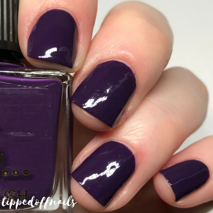 Primark Nail Polish Sweet Plum Swatch