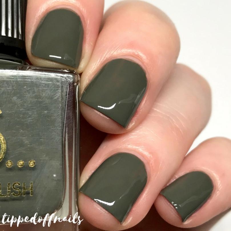 Primark Nail Polish Evergreen Swatch