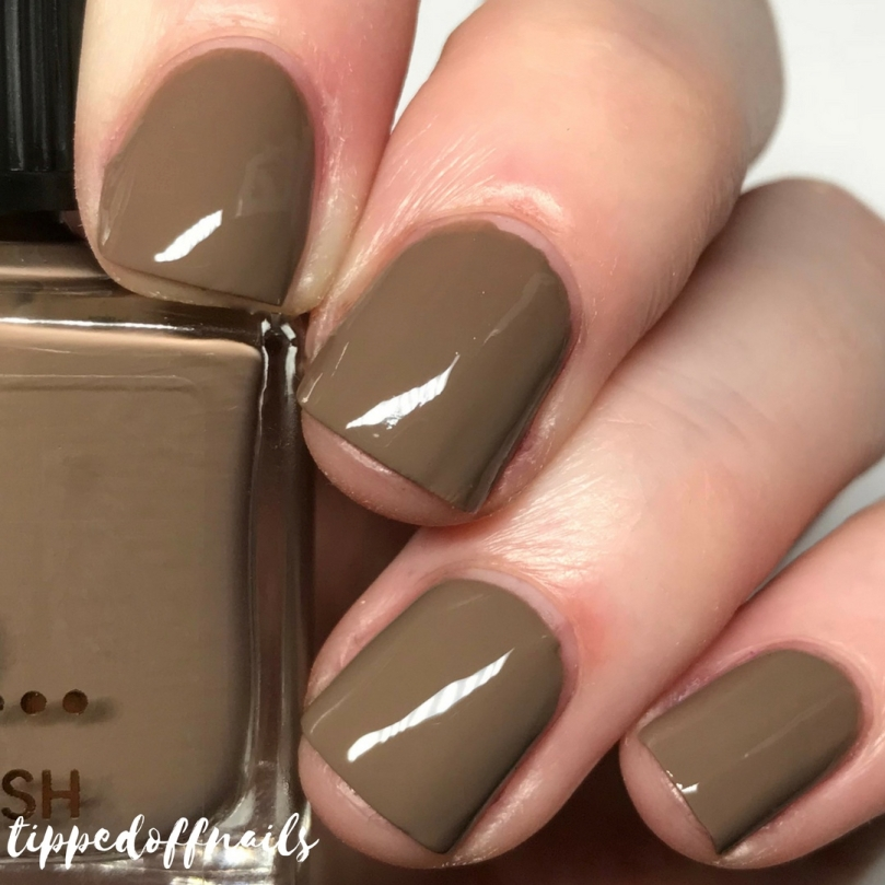 Primark Nail Polish Butterscotch Swatch