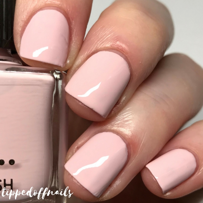 Primark Nail Polish Perfect Pink swatch
