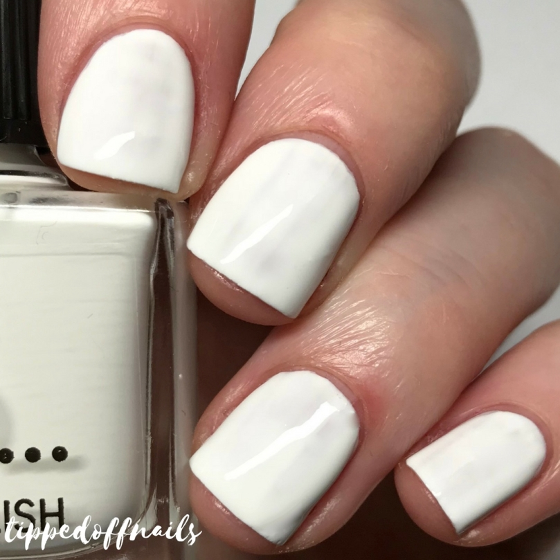Primark Nail Polish Marshmallow Swatch