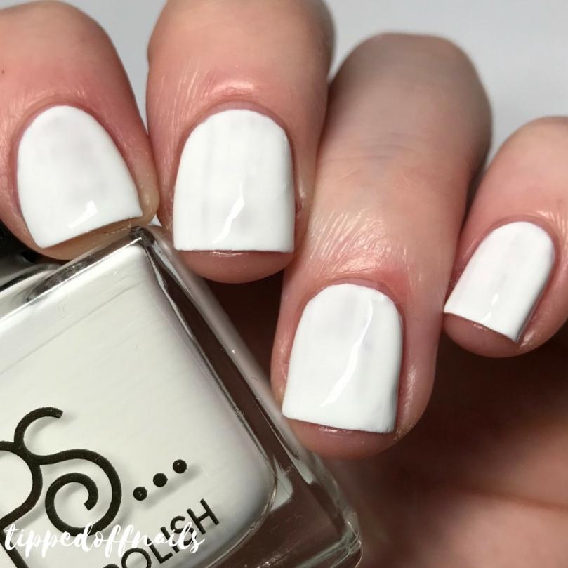 Primark Nail Polish Marshmallow Swatch