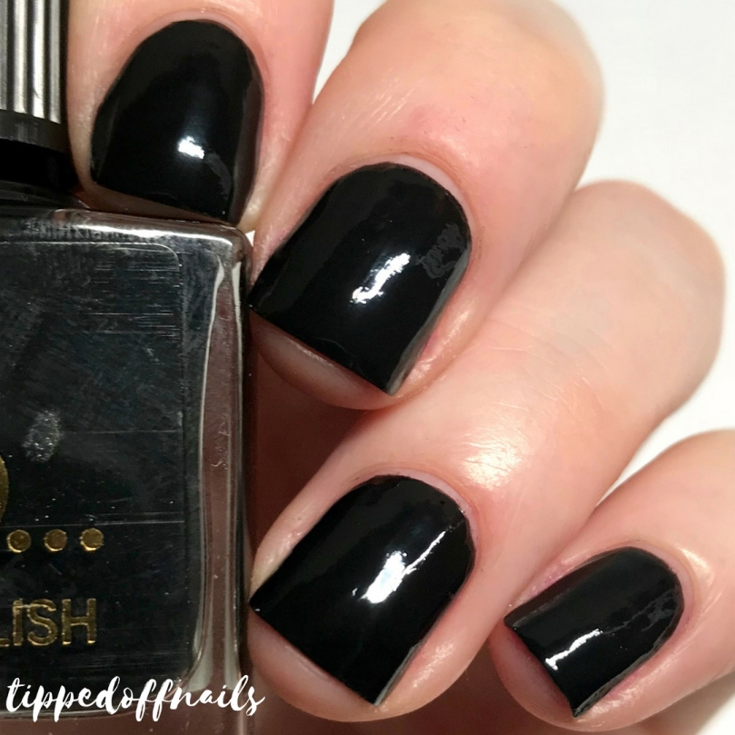Primark Nail Polish Black Magic Swatch