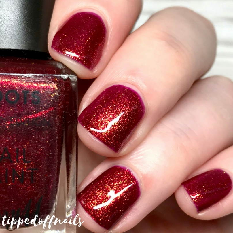 Barry M Matchmaker Lip & Nail Kit review - Opulent Nail Paint