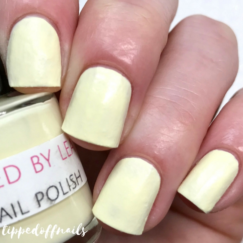 Polished by Leanne - Vanilla Frosting swatch