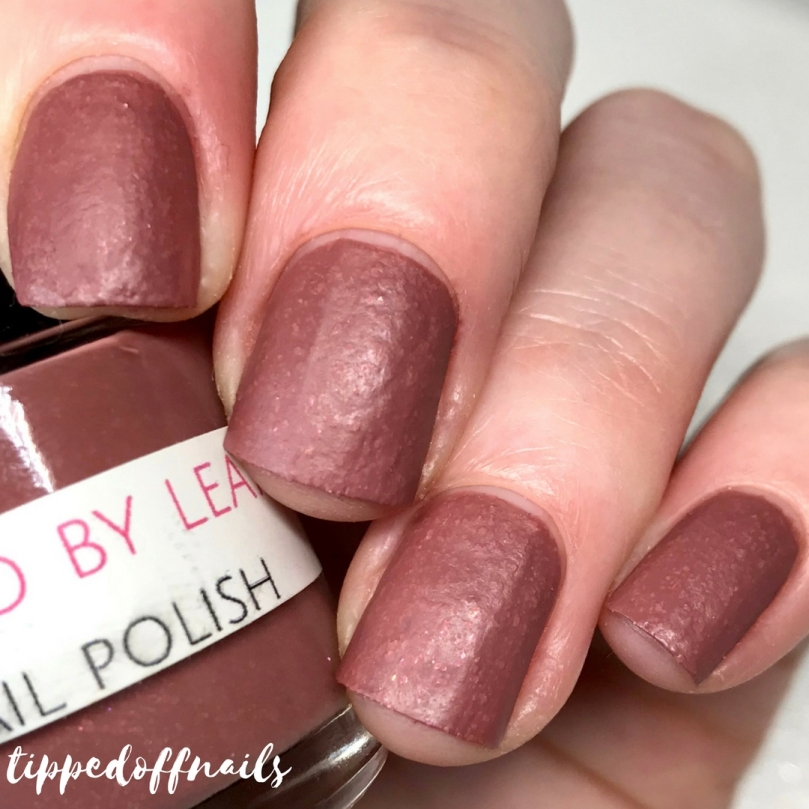 Polished by leanne - Chocolate Fondue swatch