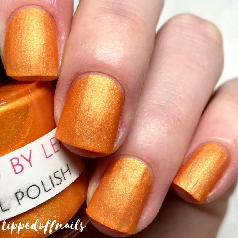 Polished by Leanne - Salted Caramel swatch