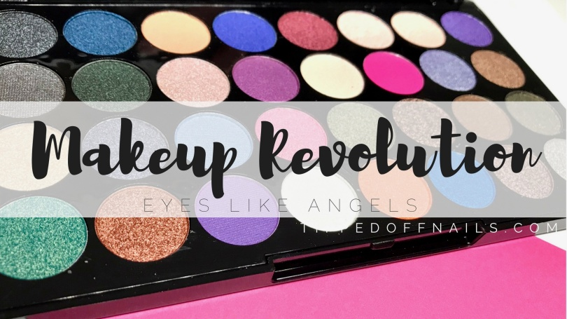 Makeup Revolution Eyes Like Angels swatches
