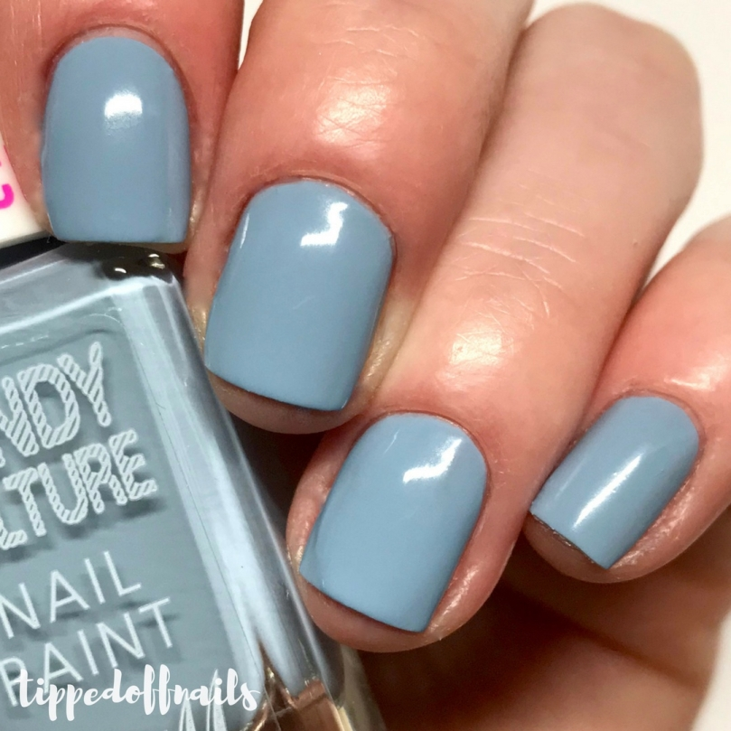 Barry M Candy Culture scented Bluberry Bonbon swatches & review