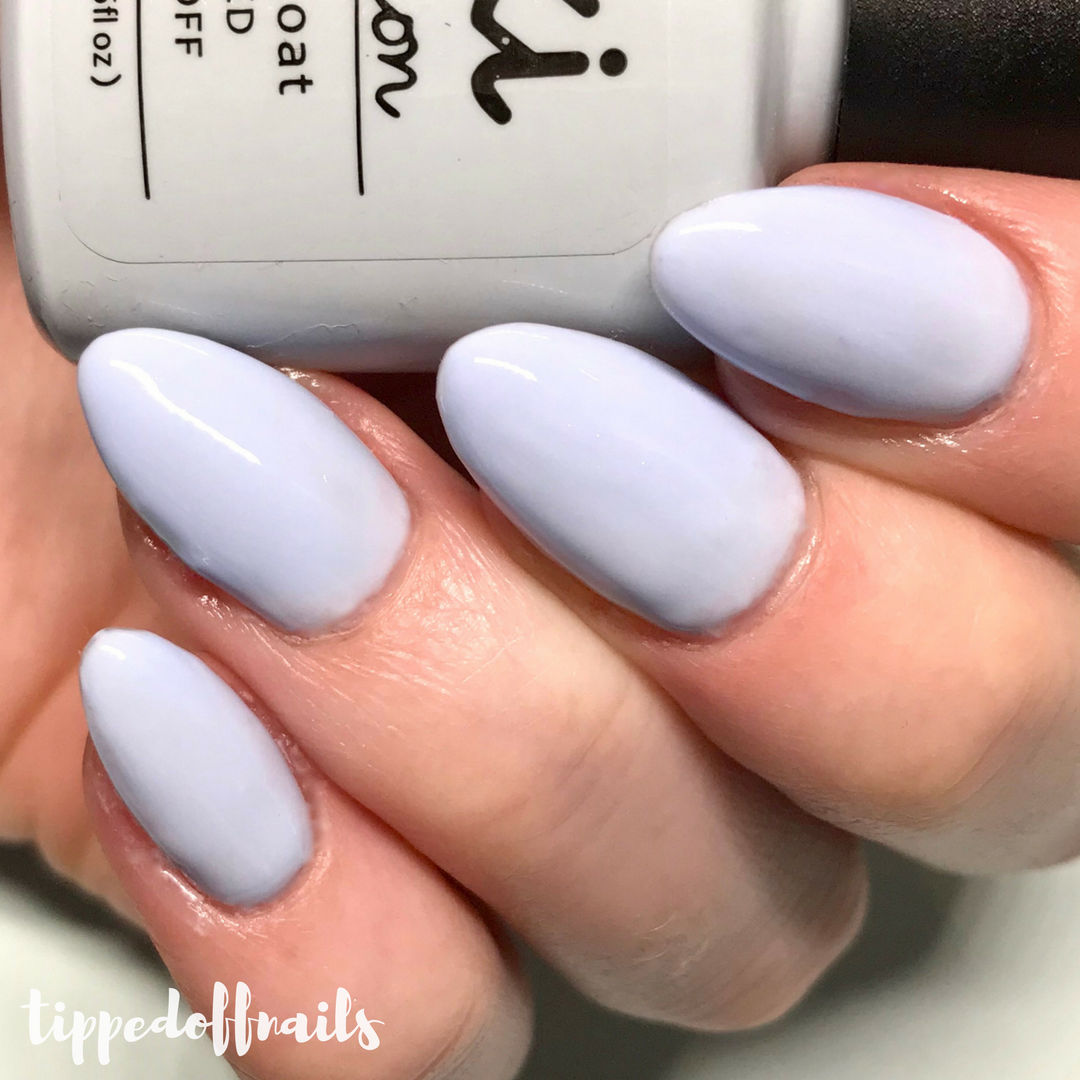 Kiki London Gel Baby Blue Swatch