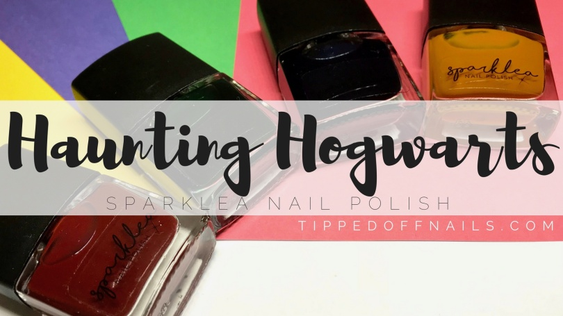 Sparklea Nail Polish Haunting Hogwarts Collection swatches