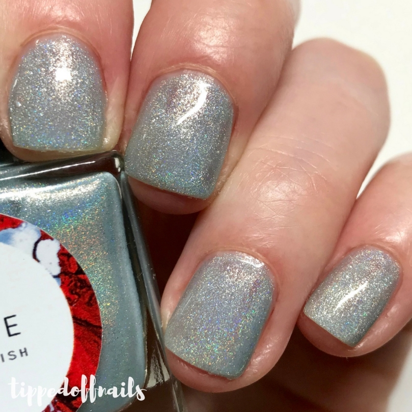 Coze Nail Polish - A Dance With Dragons Night King Swatches & review