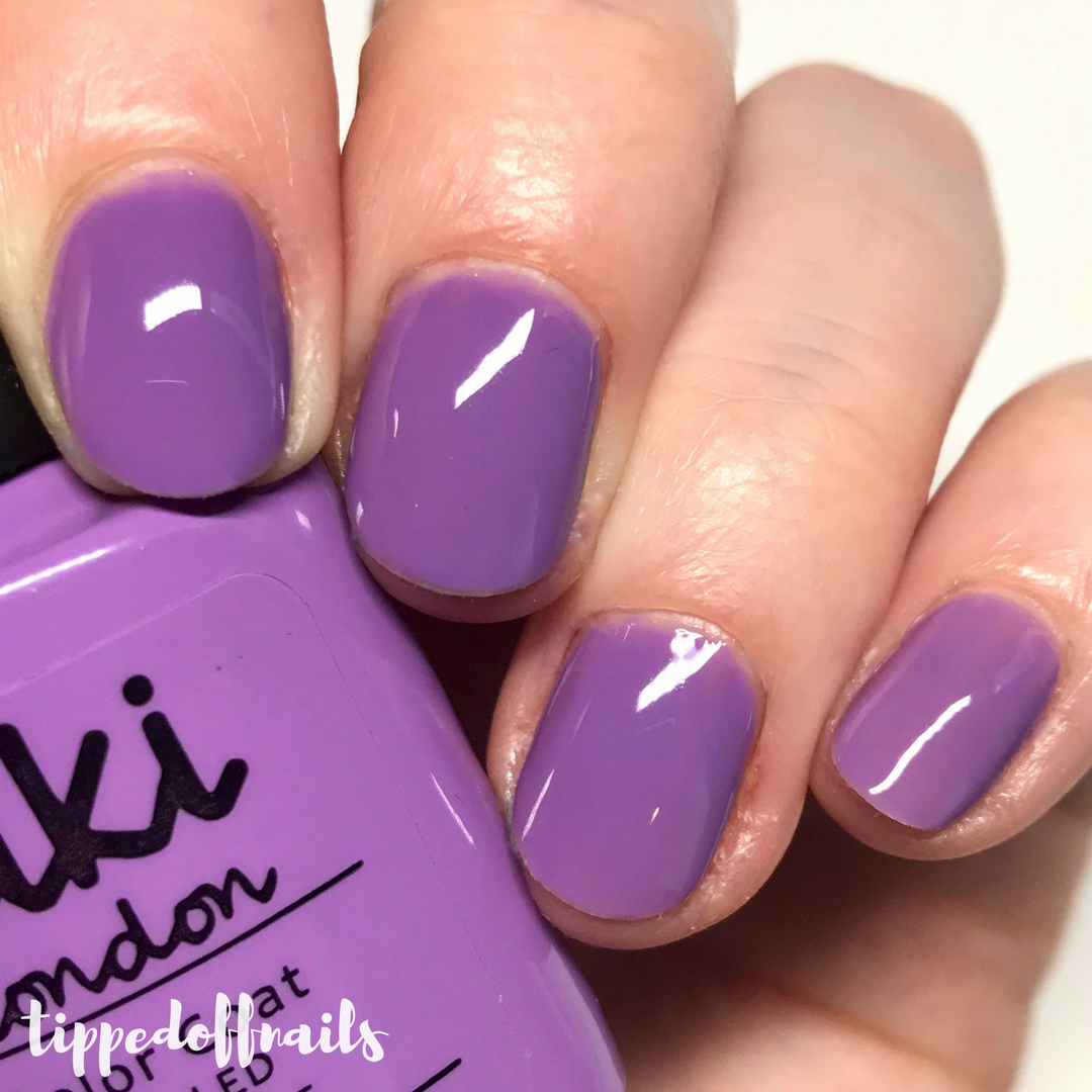 Kiki London Lilac Lover Swatch