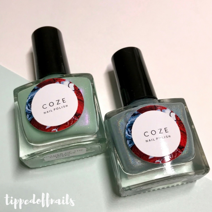 COze Nail Polish - A Dance With Dragons swatches & review
