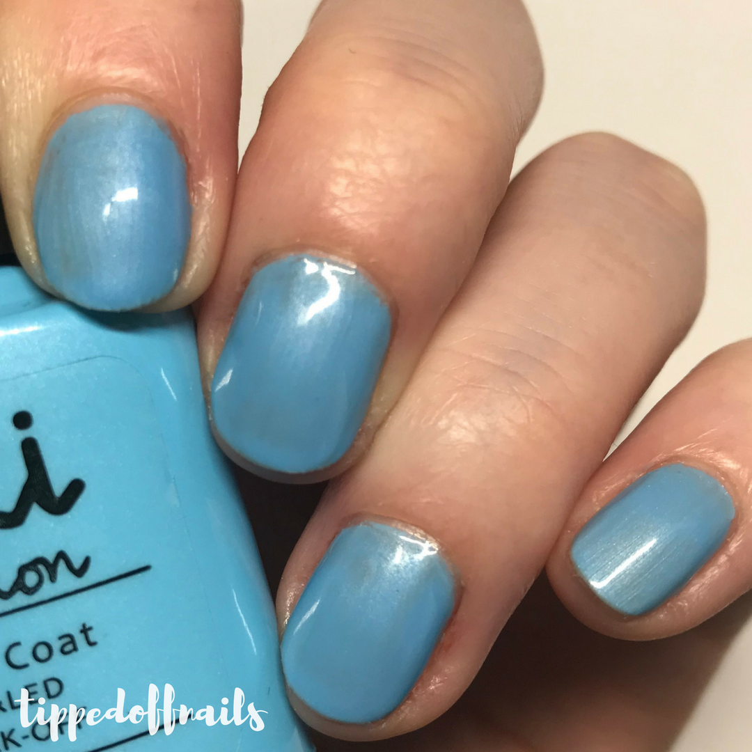 Kiki London Azure Wish Swatches