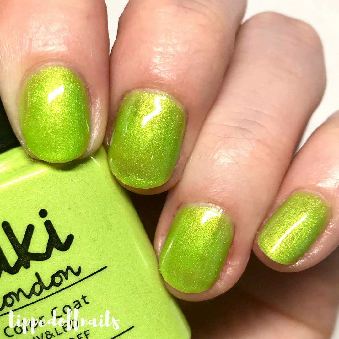 Kiki London Limeade swatch