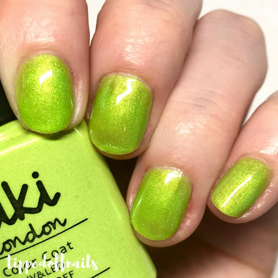 Kiki London Limeade swatch