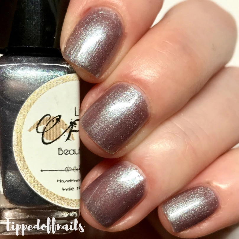 Little Fudges Beauty Shop - Mr Grey Will See You Now Swatches