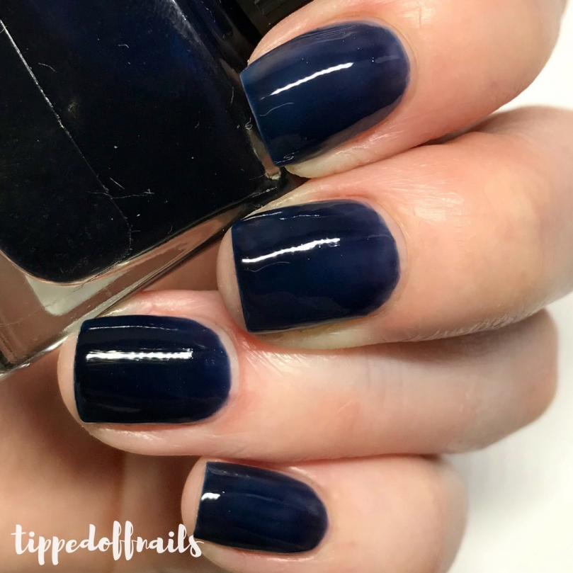This Deep Navy Blue Is Absolutely Stunning I Particularly Love It Matte 3 Coats Shown Here