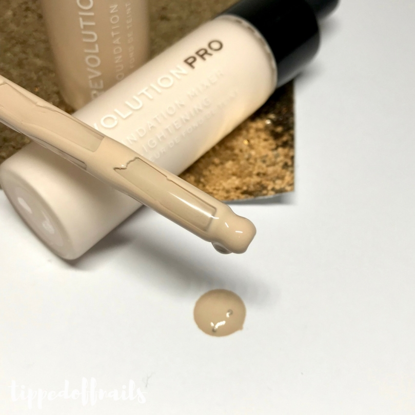 Revolution Pro Foundation Drops & Foundation Mixer Lightening Drops Review