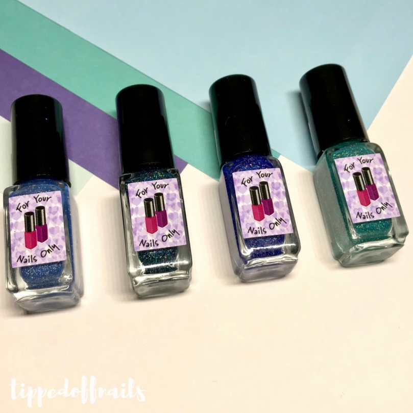 For Your Nails Only: Oceanic Collection - Swatches & Review