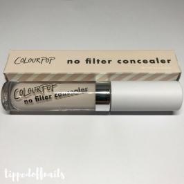 Colourpop No Filter Concealer - Fair 02 swatches & review