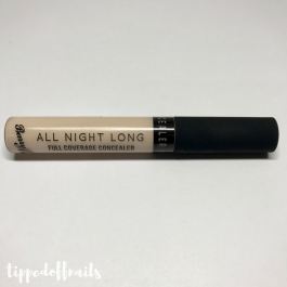 Barry M - All Night Long Full Coverage Concealer - Milk swatches & review