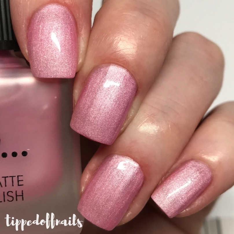 Primark PS Satin Matte nail polish Precious Pink