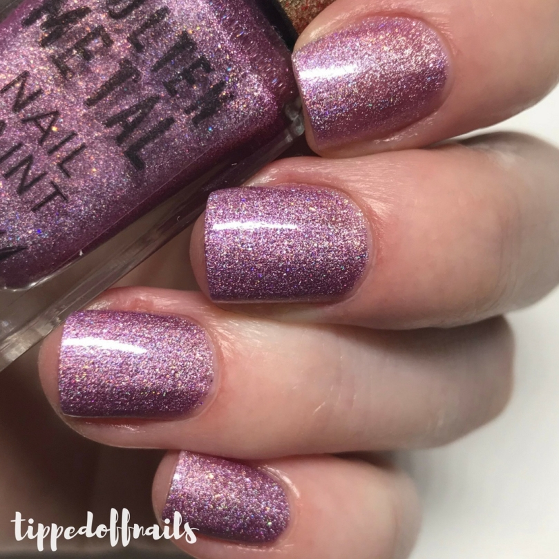 Barry M Molten Metal Holographic Rocket