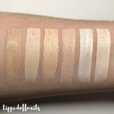 PALE HIGHSTREET CONCEALER SWATCHES & REVIEW