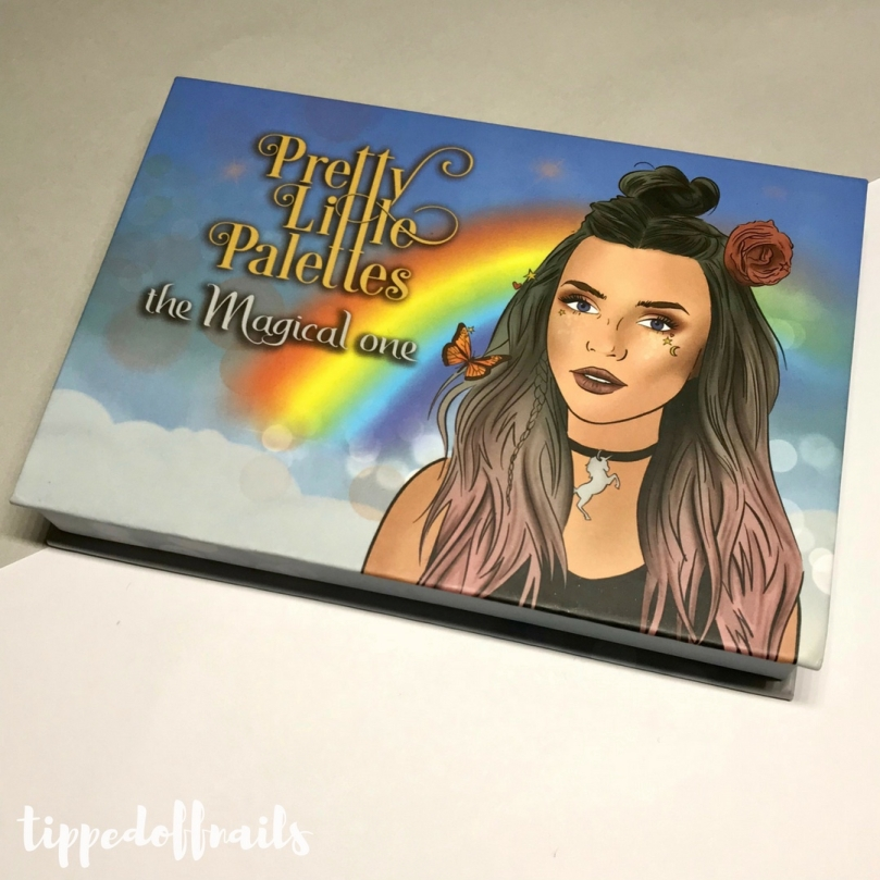 Pretty Little Palettes - The Magical One swatches