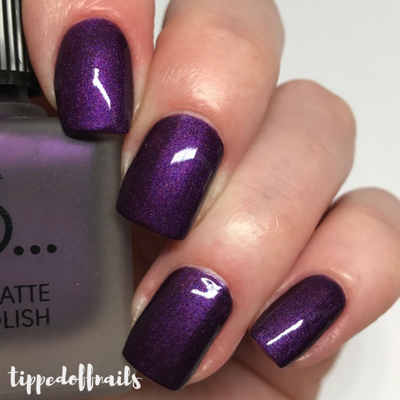 Primark PS Satin Matte nail polish Purple Rain