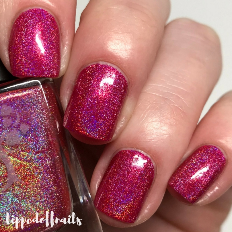 Danglefoot Dino-mite Collection How About A DiplodoKiss Swatches & Review