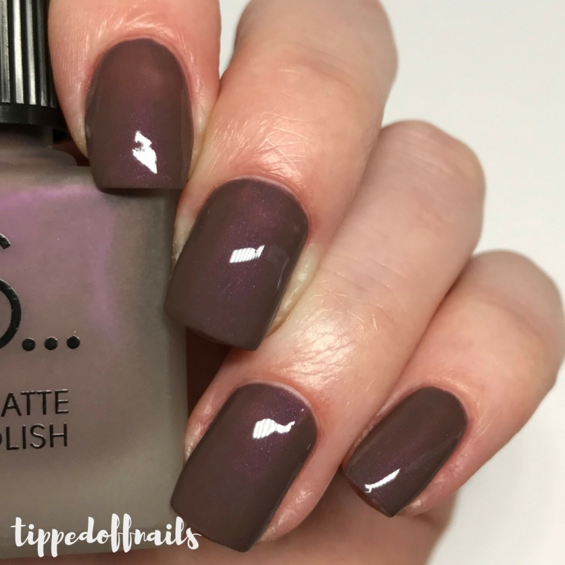 Primark PS Satin Matte nail polish Velvet Dream