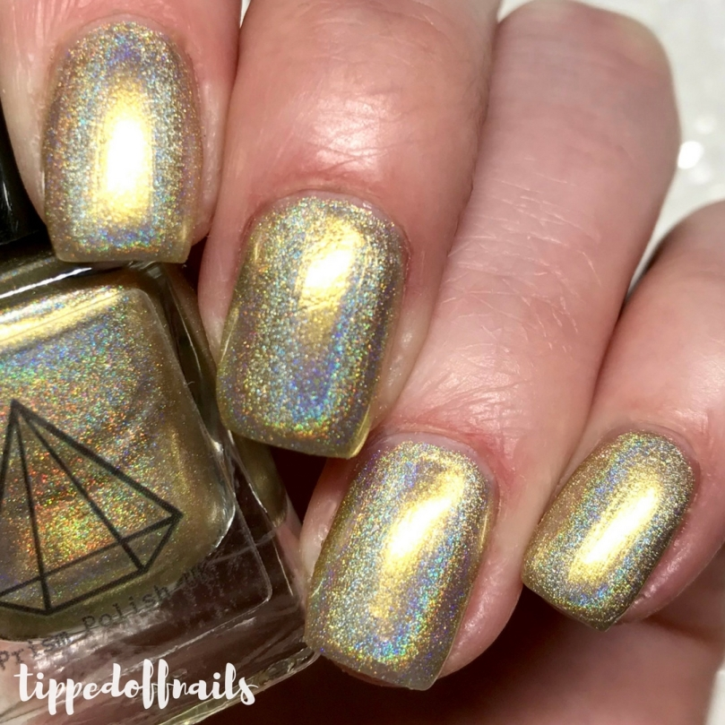 Prism Polish Dragon Eggs Trio - Viserion swatches