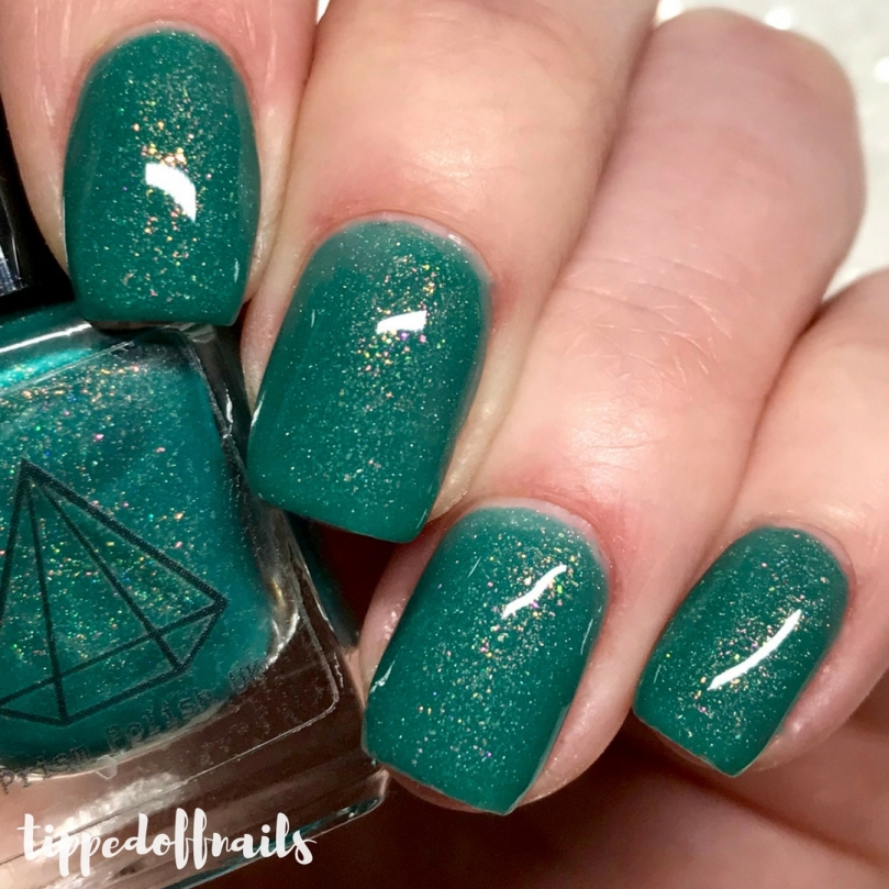 Prism Polish Dragon Eggs Trio Rhaegal swatches & review
