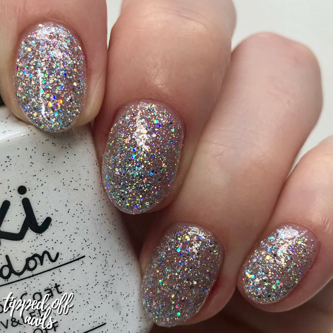 Kiki London Gel Diamonds Swatch
