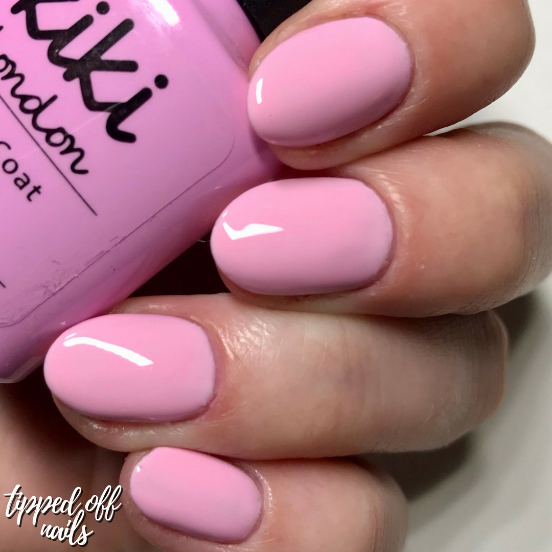 Kiki London Gel Baby Pink swatch