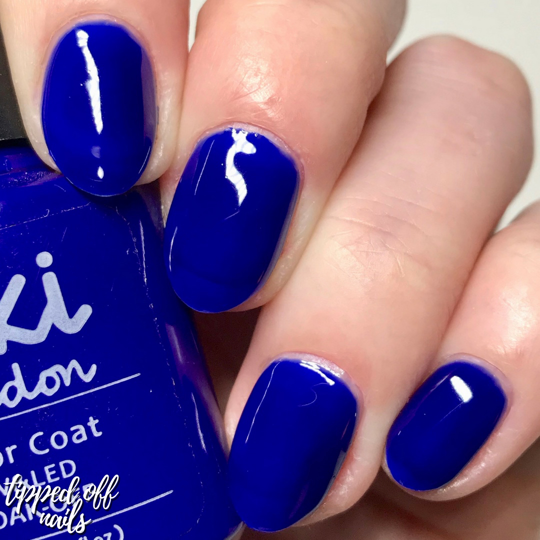 Kiki London Gel Electric Island Swatches