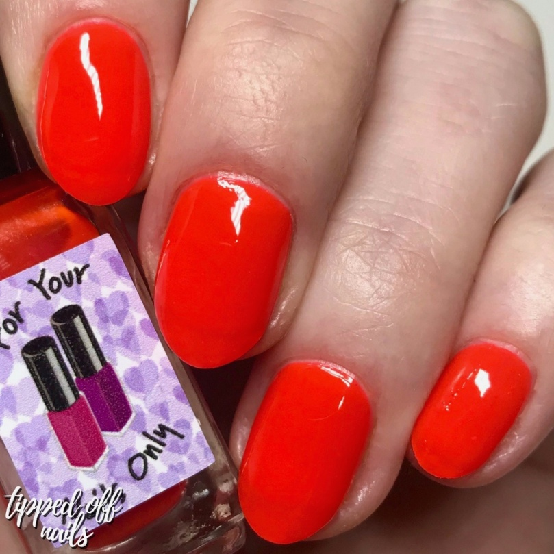 For Your Nails Only - Danger Zone swatch