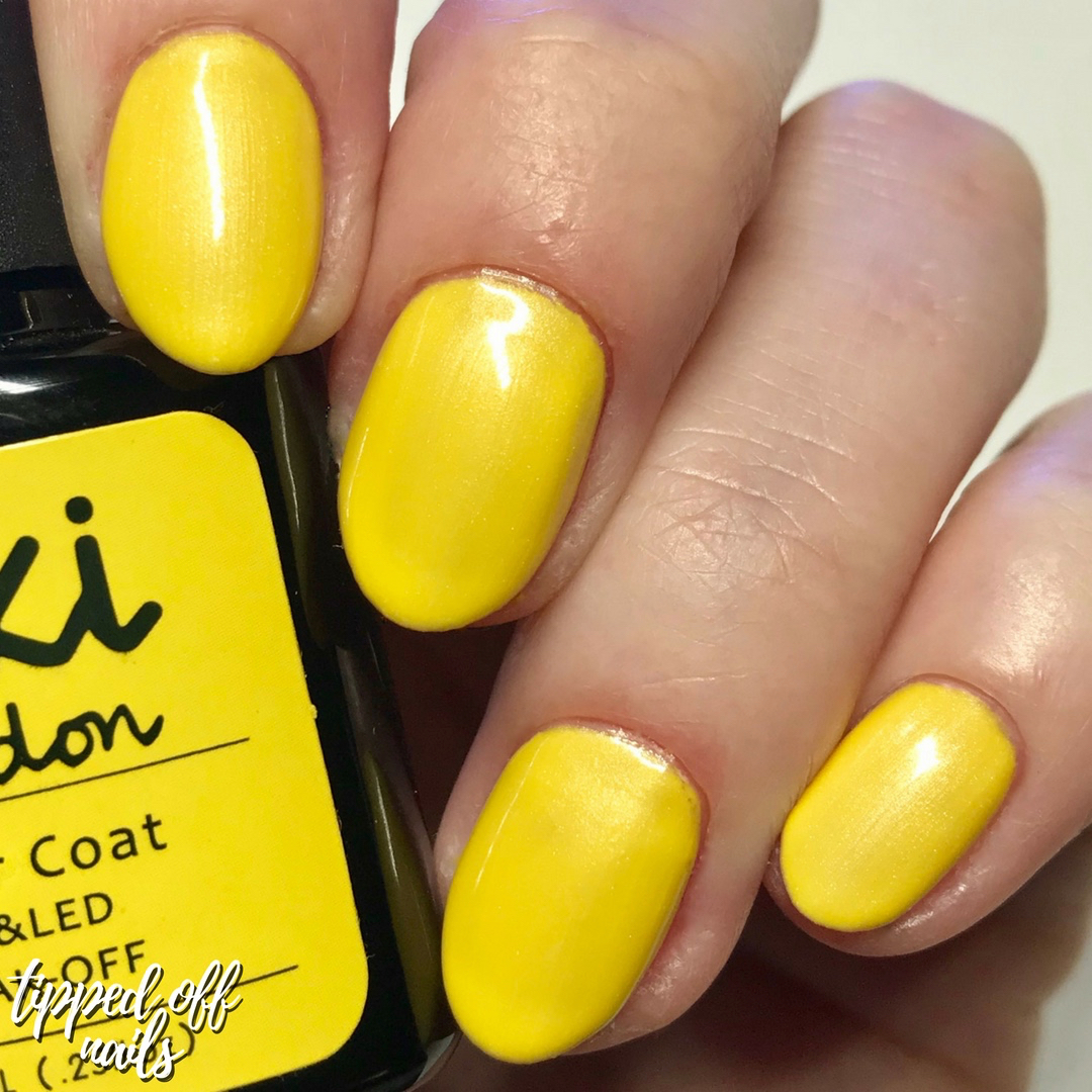 Kiki London Gel Lemon Tart Limited Edition Swatch
