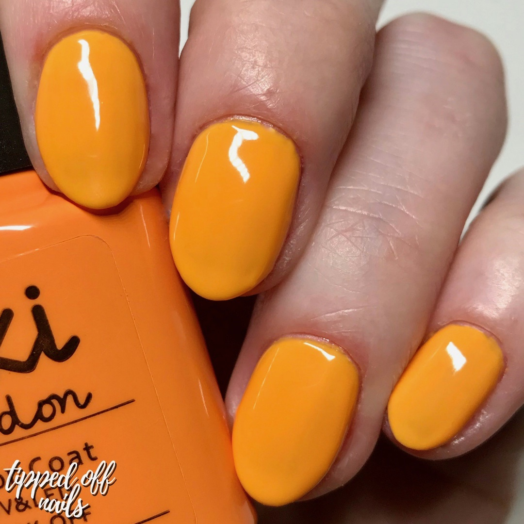 Kiki London Gel Orange Soda Swatch