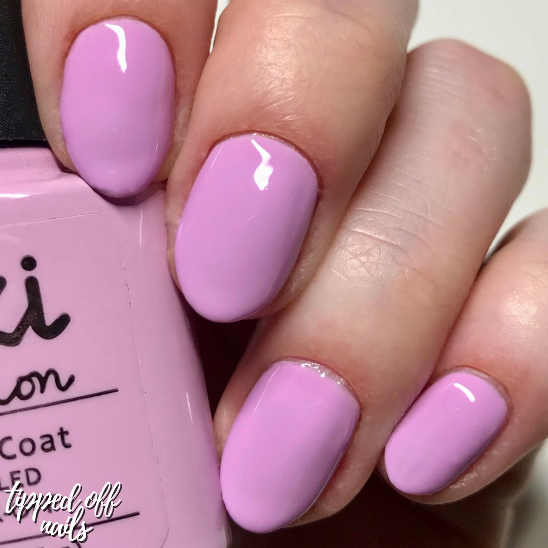 Kiki London Gel Cotton Candy Swatch