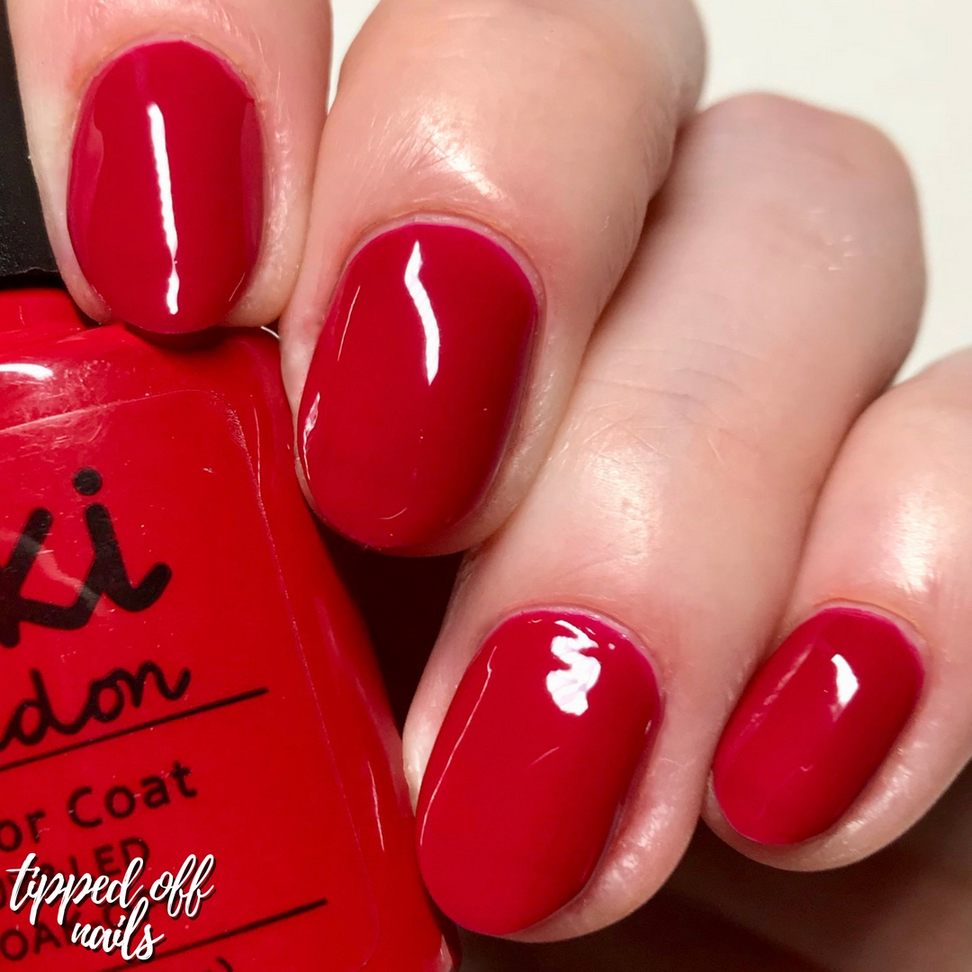 Kiki London Gel Bridal Red Swatch