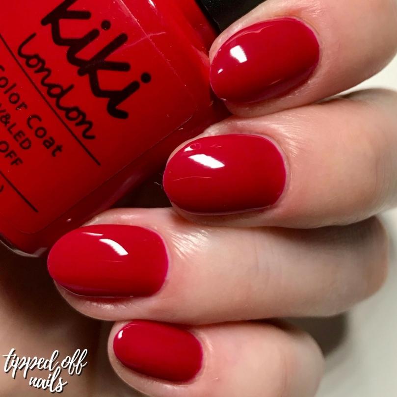 Kiki London Gel Bridal Red Swatch
