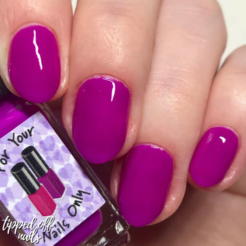 For Your Nails Only - Phlox swatch
