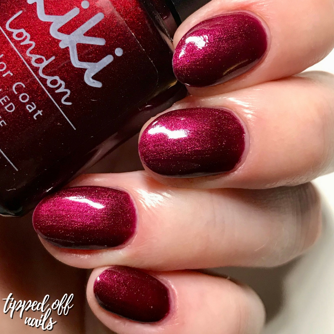 Kiki London Gel Divine Kiss swatch