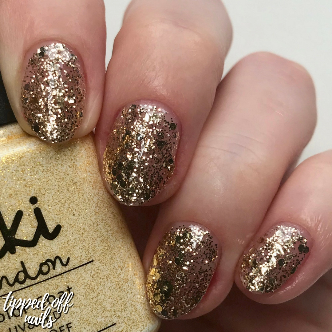 Kiki London Gel VIP Gold Swatch
