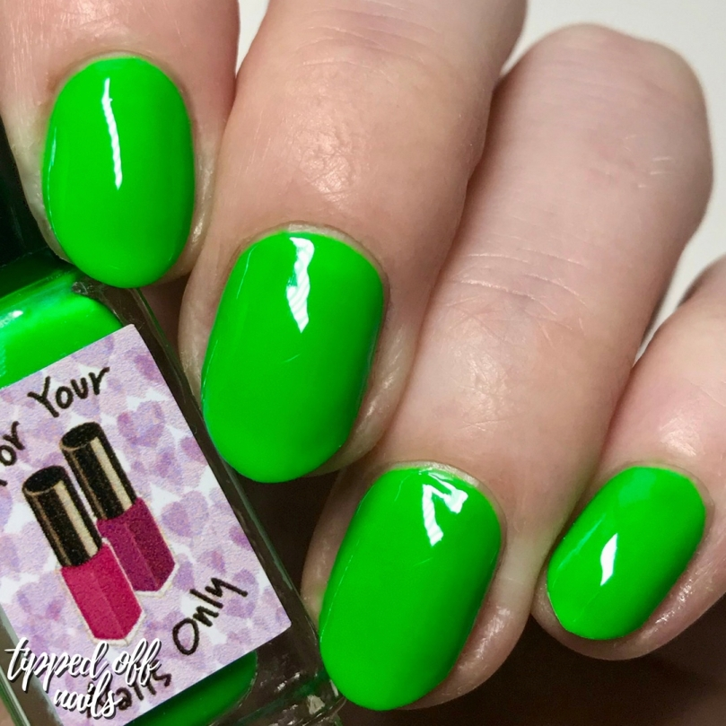 For Your Nails Only - Toxic swatch