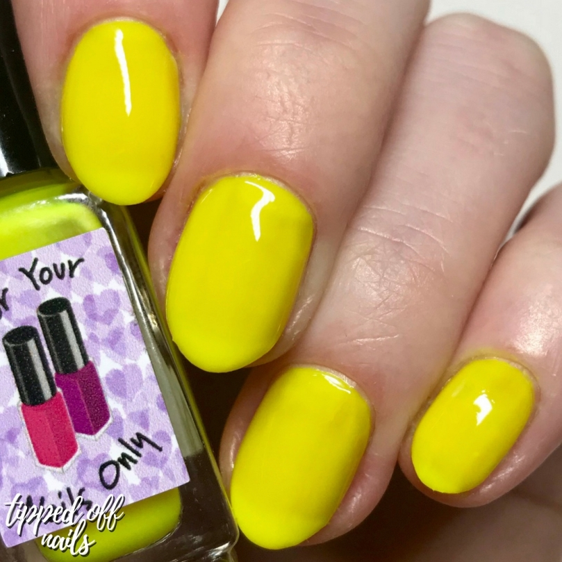 For Your Nails Only - Lemon Zest swatch